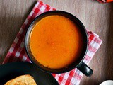Easy Roasted Red Pepper Soup Recipe