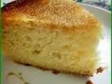 Egg less orange cake