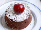 Eggless choco lava cake recipe | Eggless molten lava cake recipe