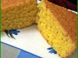 Eggless orange tea cake