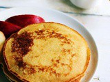 Eggless pancake recipe | Best pancake recipe without eggs | Whole wheat pancake recipe