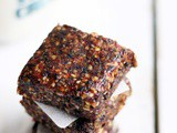 Homemade energy bar recipe | Healthy snack recipes