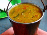 Idli Sambar Recipe (Tiffin Sambar Recipe)