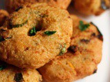 Instant Rava Vada Recipe | How To Make Rava Vada