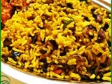 Kathrikai sadham(egg plant rice-with out grinding)