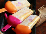 Mango falooda popsicles recipe, how to make popsicles with mango falooda