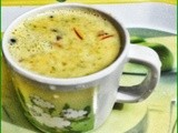 Masala milk (Milk with spices)