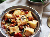 Methi paneer recipe, how to make methi paneer masala | methi recipes