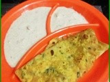 Methi paratha (Flat bread using fenugreek leaves)