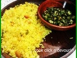 Mixed vegetable lemon rice