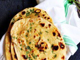 Naan recipe without yeast | No yeast garlic butter naan recipe