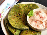 Palak Paratha Recipe | Spinach Paratha Recipe