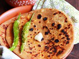Paneer Paratha Recipe (with video)