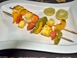 Paneer tikka(oven method)
