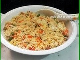 Paneer vegetable pulao