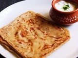 Paratha recipe, plain paratha recipe | how to make plain paratha