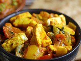 Pepper Paneer Recipe | How To Make Pepper Paneer