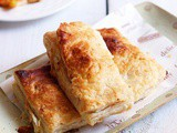 Pizza puff recipe with homemade pastry sheet