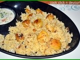 Potato biriyani