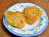Potato poori recipe | how to make potato poori