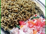 Pudhina rice(mint flavored rice)