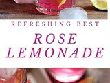 Refreshing Rose Lemonade