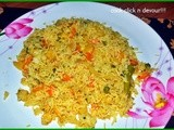 Restaurant style vegetable pulao