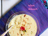 Rice kheer recipe | How to make rice kheer recipe | Chawal ki kheer recipe