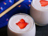 Strawberry banana smoothie recipe | Strawberry recipes