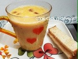 Sweet corn soup(Easy method)
