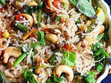 Thai Fried Rice (Vegan)