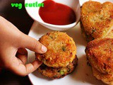 Veg Cutlet Recipe | Vegetable Cutlet Recipe | How To Make Cutlet