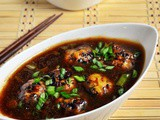 Veg Manchurian Recipe (Chinese Vegetable Manchurian)