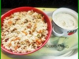 Vegetable pulao ii (with fresh spice mix)