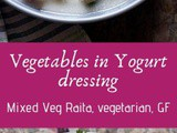 Vegetable Raita (Mixed Veg Raita)