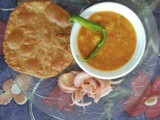 Bedmi Poori and Aalu ki Subzi