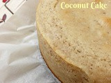 Egg-less Fresh Coconut cake
