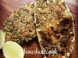 Herb Crusted Paneer [Without bread crumbs]