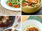 10 Easy Zucchini Pasta and Veggie Noodle Recipes