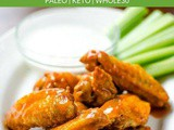 Air Fryer Chicken Wings (Paleo, Keto, Whole30)