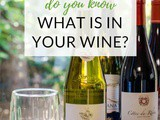 Do You Know What's In Your Wine