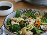 Easy Chicken & Veggie Stir Fry with Zoodles