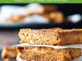 Maple Walnut Blondie Recipe (Paleo, Gluten Free, Low Carb)