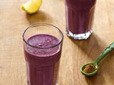 Paleo Blueberry Pie Smoothie