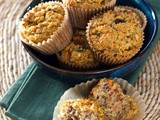 Paleo Carrot Raisin Muffins