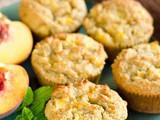 Peach Muffin Recipe (Paleo, Gluten Free, Grain Free)