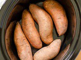 Slow Cooker Sweet Potatoes