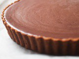 Salted Chocolate Caramel Tart
