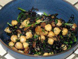 Easy Chickpeas and Greens