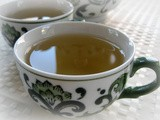 Ginger Tea with Lemon Verbena and Honey